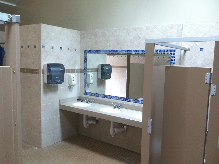 of Commercial Tile Work