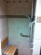 Commercial Shower Renovation