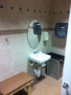 Commercial Sink and Mirror